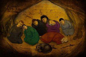 yedi uyurlar hikayesi isimleri